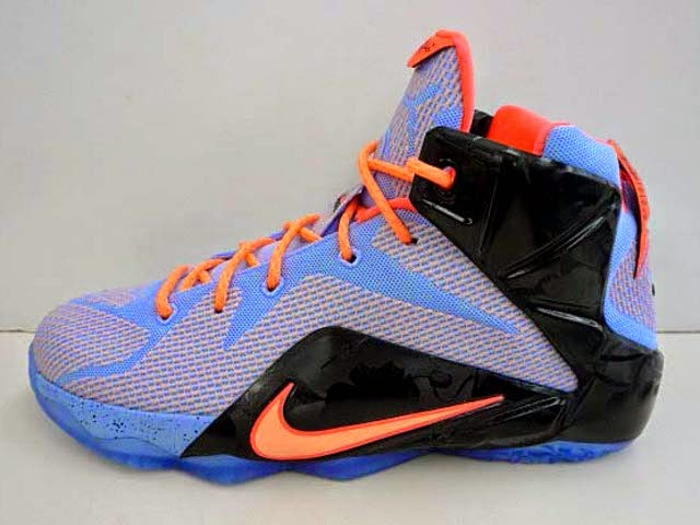 Additional Look at Nike LeBron 12 8220Easter8221 in Grade School ... 637959ba8