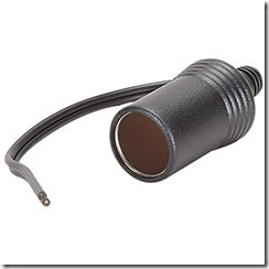 cigarette lighter socket