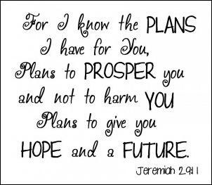 Jeremiah 29-11 - 2