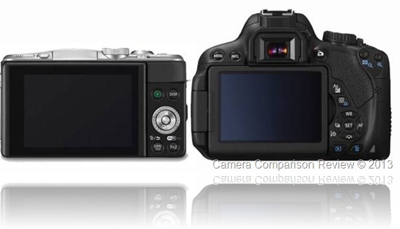 Panasonic Lumix DMC-GF6 vs Canon T4i