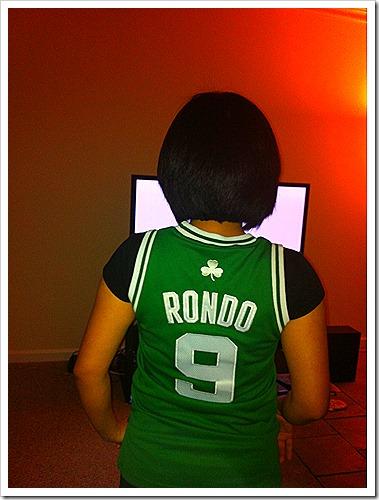 Rajon Rondo basketball fan