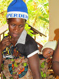 Lucia, vrijwilliger