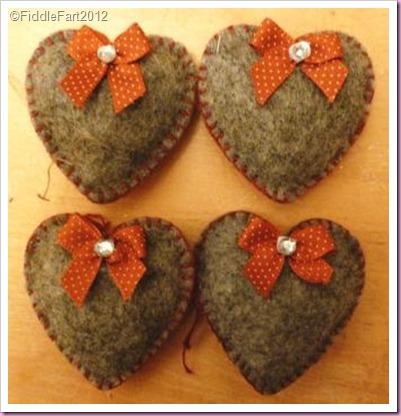 Ikea felt hearts 3