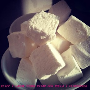Hemlagade marshmallows 2