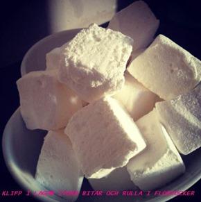 Hemlagade marshmallows 2
