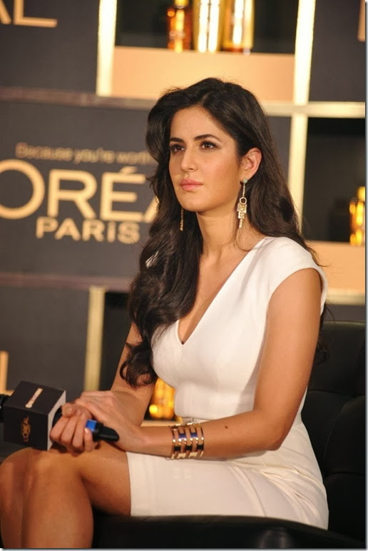 Katrina Kaif at New Hair Care Range of L'Oreal Paris Launch Photos