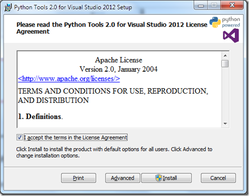 PythonForVisualStudioInstallation1