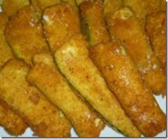 Zucchine impanate e fritte