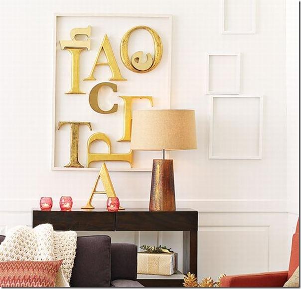 case e interni - decorare con letere e numeri (7)