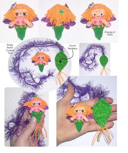 Little Leaf Butterfly Necklace Crochet Pattern And Other Free Patterns