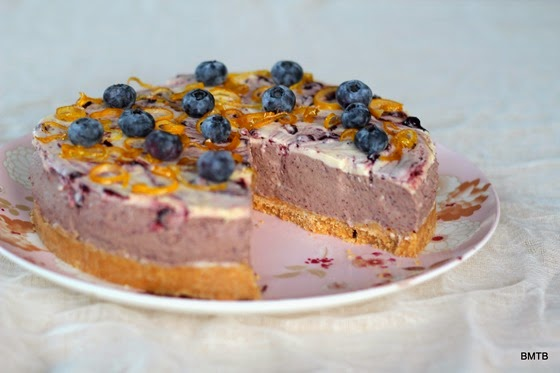 Blueberry Cheesecake by Baking Makes Things Better