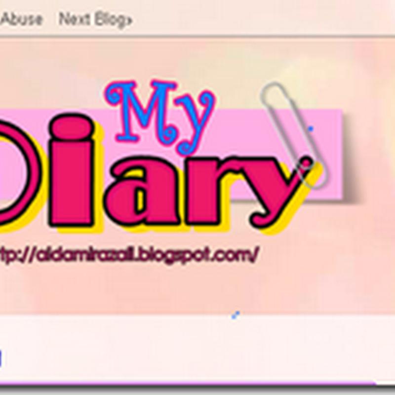Saya baru buat blog meh ?