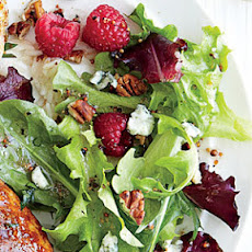 Raspberry and Blue Cheese Salad