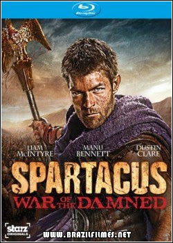 Download Spartacus War of the Damned 3ª Temporada 1080p BluRay Dual Audio