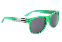 Lightsaber Sunglasses from Hot Topic (green)