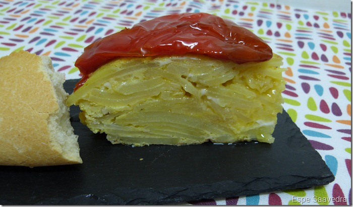 tapa tortilla pimiento