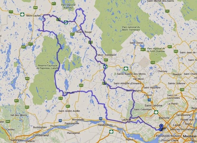 DS Aventure Quebec - Circuit St-Jean