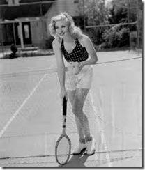 ginger rogers tennis