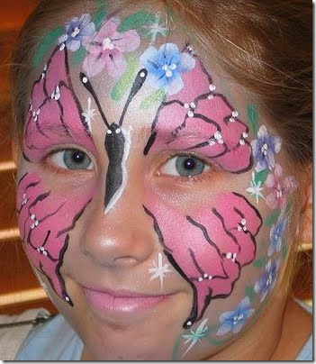 maquillaje mariposa halloween (6)