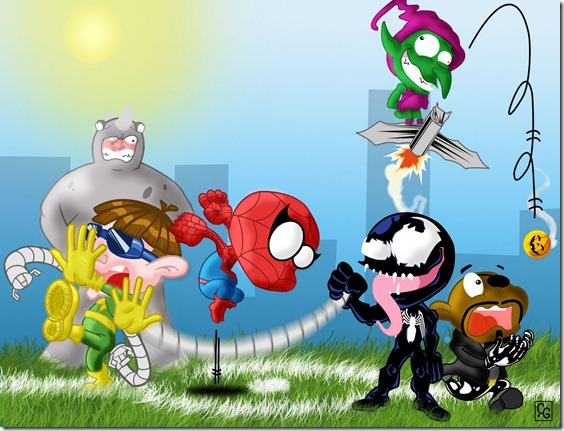spiderman infantil