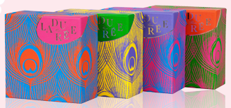Ladure's Les Seventies Collection is the latest box design from my favorite macaron shop