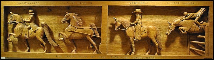 10c - American Saddlebred Carving - Versatility