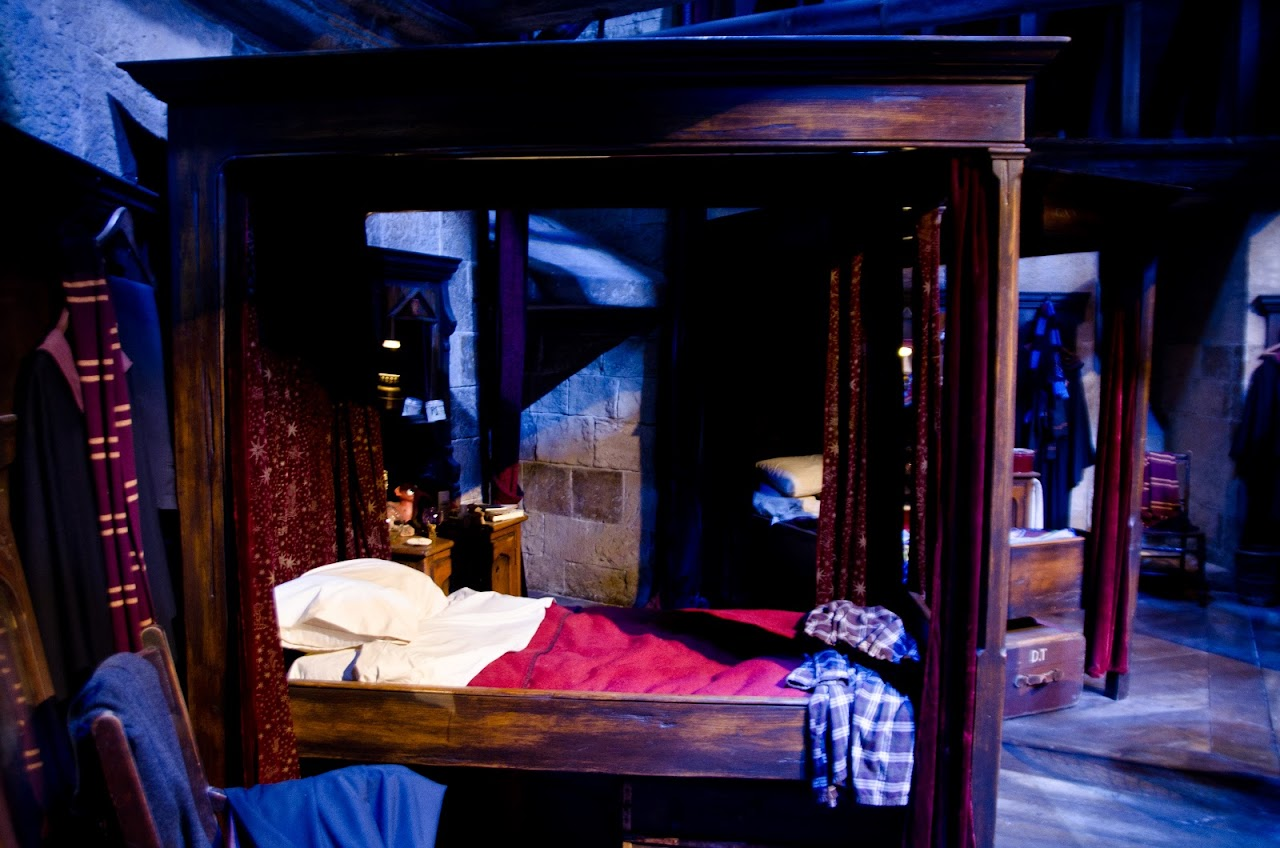 Gryffindor boys' dormitory