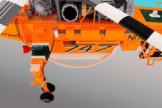 Helicóptero de Legos 06
