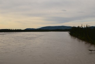 Tanana River crossing Alaska Highway