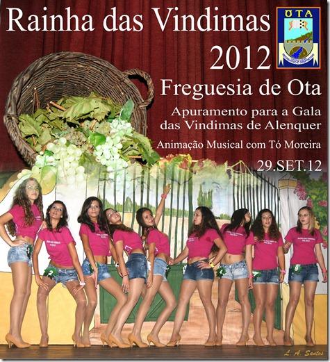Rainha das Vindimas 2012 - Ota