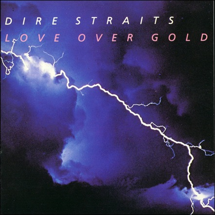 Dire Straits - Love Over Gold - Recto