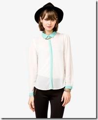 Sheer Chiffon Shirt
