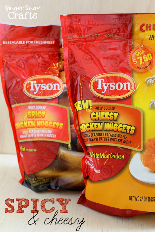 cheesy chicken nuggets spicy chicken nuggets #LoveUrNuggets #shop #ad