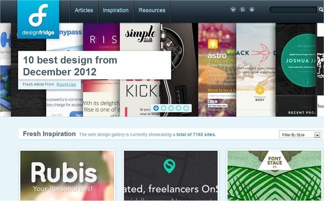 13 galerías web sobre CSS para encontrar inspiración 12