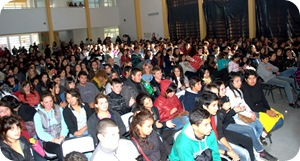 Multitudinaria participacin de jvenes en el programa municipal &quot;Mucho que decir&quot;