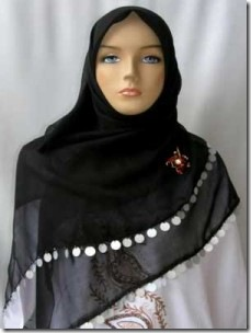 Model Jilbab Paris Terbaru