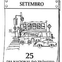dia do transito atividades desenhos colorir306.jpg
