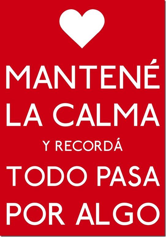Mantene la calma