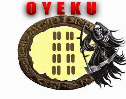 O odu da morte em  Ifa Oyekun Meji - Ejilogbon - MERINDILOGUN