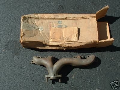 This is a 1959-60 left hand manifold with single exhaust . The 1961 slightly different. Call for price