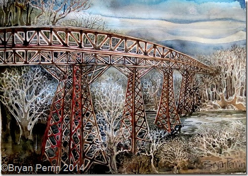 Trestle Bridge from Memory Gap