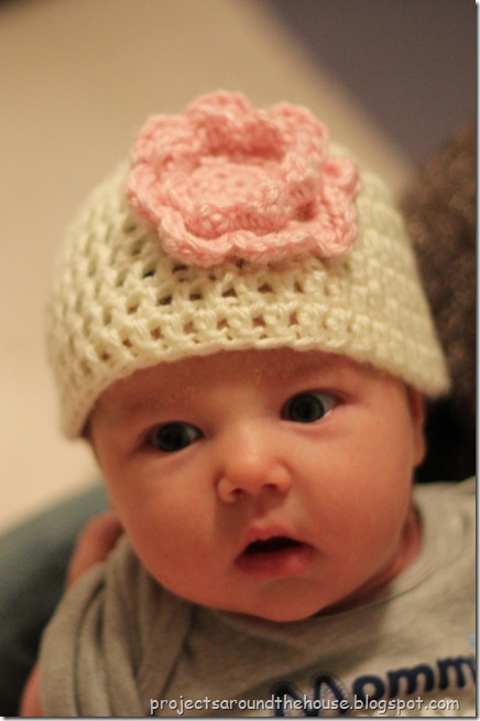 Projects Around the House: Easy Crochet Newborn Hat Pattern