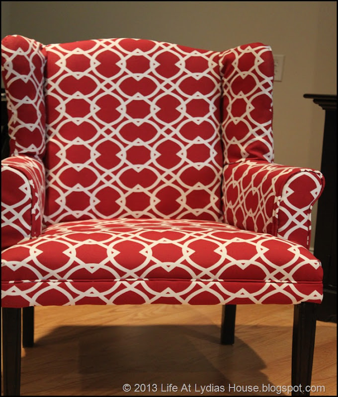 new red chair 1