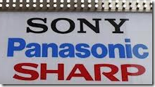 Sony Sharp Panasonic