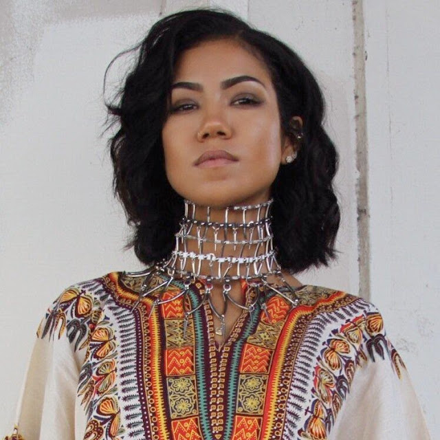 Just Naija Gossip: Jhene Aiko Shows African Roots By