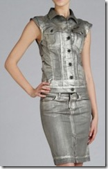 7 for All Mankind Silver Vest