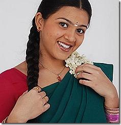 swetha cute in saree