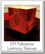 replacement sleeves for febreeze luminary