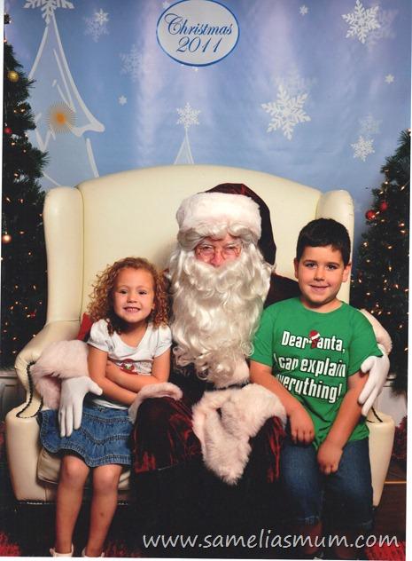 Santa Photo 2011