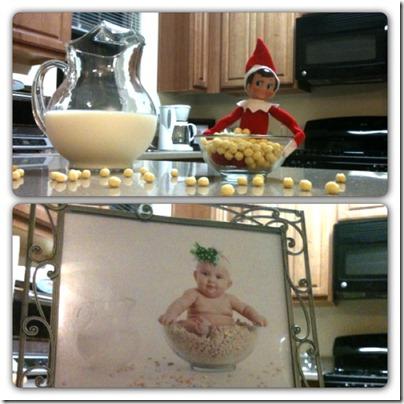 Cereal Bowl Elf